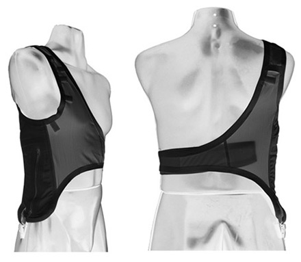 shoulder harness black